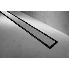 Douchegoot BG 2in1 Neo Pure 90 cm zwart mat