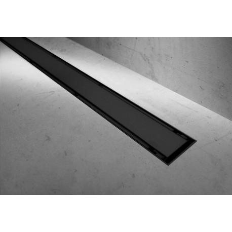 Douchegoot BG 2in1 Neo Pure 100 cm zwart mat