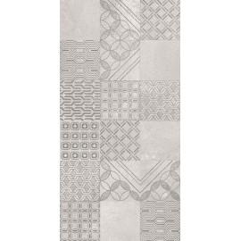 Wandtegels Harmony Grys Patchwork 30x60 cm