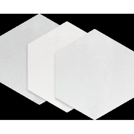 Esagon Concrete Silver 17,1x19,8 cm