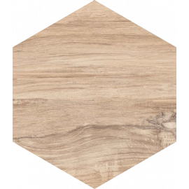 Wandtegels Esagon Wood Beige 17,1x19,8 cm