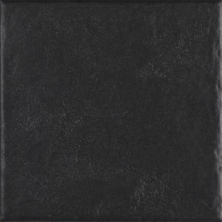 Vloertegels Modern Nero structuur mat 19,8x19,8 cm