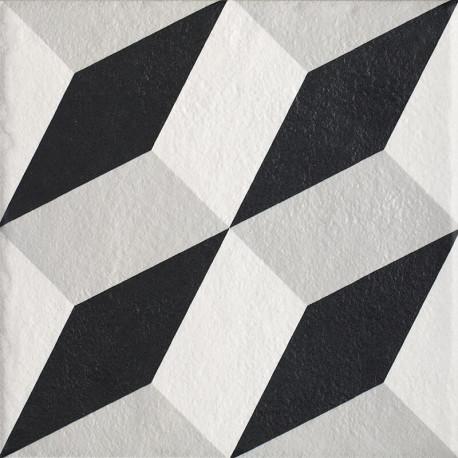 Vloertegels Modern Structuur A mat 19,8x19,8 cm