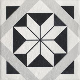 Vloertegels Modern Structuur F mat 19,8x19,8 cm