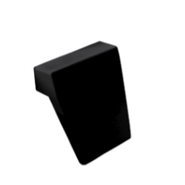 Badkussen BG-81 Modern zwart