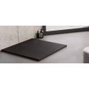 Douchebak 90x90x3 cm zwart mat massief vierkant Mori