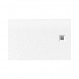 Douchebak 120x90x3 cm wit mat massief rechthoek Mori