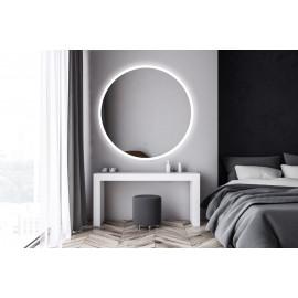 Spiegel LED 40 cm rond Circum GD touch bediening