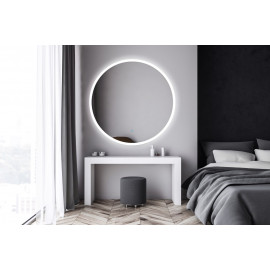 Spiegel LED 120 cm rond Circum GD touch bediening