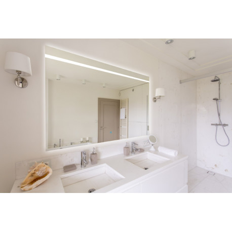 Spiegel LED 70x70 cm Decora GD touch bediening