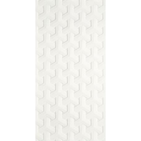 Wandtegels Harmony Bianco A structuur 30x60 cm