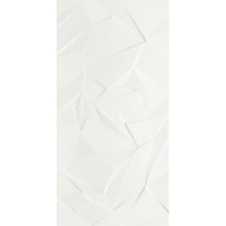 Wandtegels Synergy Bianco B structuur 30x60 cm glans