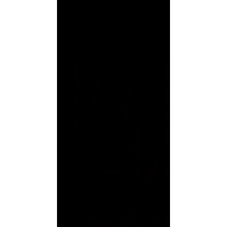 Wandtegels Synergy zwart glans 30x60 cm