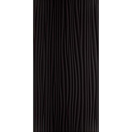 Wandtegels Synergy zwart glans A structuur 30x60 cm