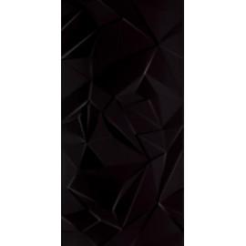 Wandtegels Synergy zwart glans B structuur 30x60 cm