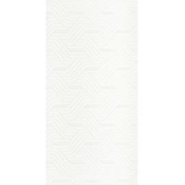 Wandtegels Synergy Bianco inserto 30x60 cm glans
