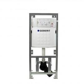 Geberit UP320 wc-element met inbouwreservoir frontbediening dual flush en isolatiemat