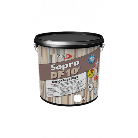 Sopro DF 10 Designvoeg Flex zwart 1-10 mm 5 kg