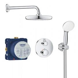Grohe Grohtherm 1000 New comfortset inbouw compleet chroom 34614001