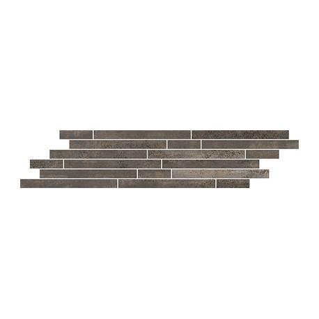 Mozaiek 15x71 cm Menfi Bruin mix stroken