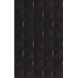 Wandtegels 25x40 cm Melby Zwart mat structuur