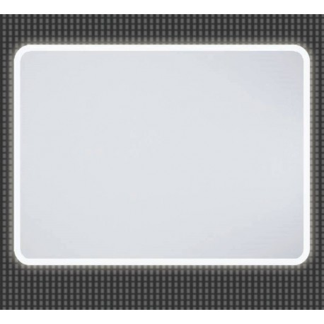 Spiegel 100x80 cm LED12 met LED verlichting