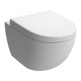 Wandcloset Sanister Compact 49,5 cm wit met softclose zitting 149702462