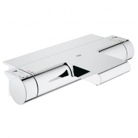 Grohe Grohtherm-2000 badkraan thermostatisch m. koppelingen m. tray 15cm chroom 34464001 A. 0102549